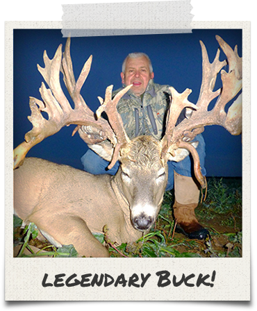 Legendary Buck at Wilderness Whitetails!